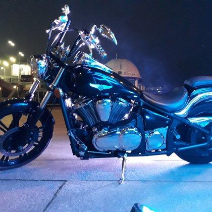 Организация праздников с мотоциклом