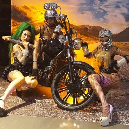 Мотоцикл на вечеринку, все гости оценят