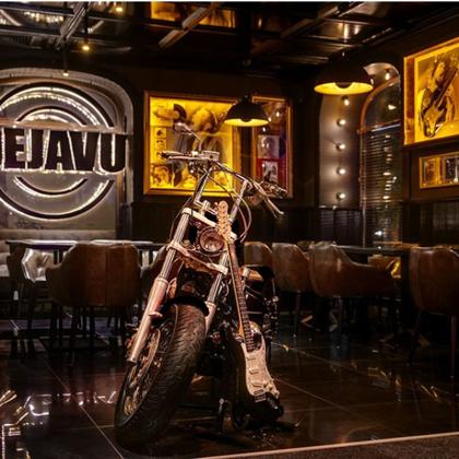 Мотоцикл и гитара для ROCK PARTY